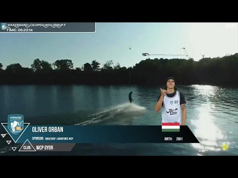 Orbán Olivér Winning the LCQ at Cable Wakeboard European Championships 2021
