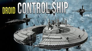 DROID Control Ship - Star Wars - Space Engineers!
