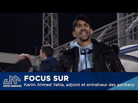 Focus sur Karim Ahmed Yahia, adjoint et entraîneur des gardiens de l'AG Caen by UM