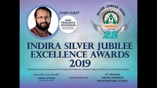 Indira Silver Jubilee Excellence Awards 2019