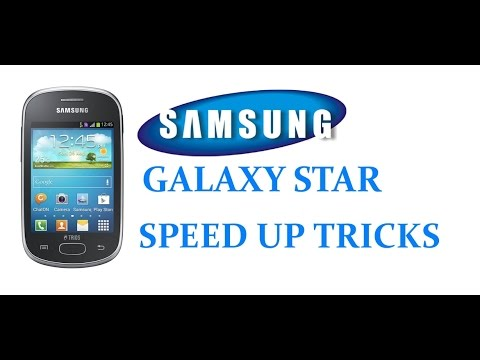HOW TO SPEED UP SAMSUNG GALAXY STAR