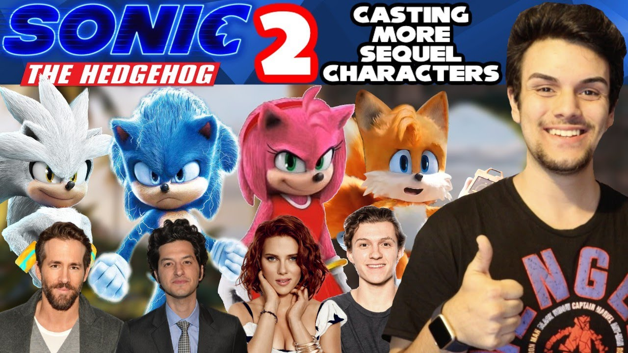 Casting More Sonic The Hedgehog Sequel Characters ft. Tom Holland