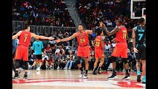 Atlanta Hawks Highlights Vs. Hornets 2018   NBA Season 2018   11.25.18