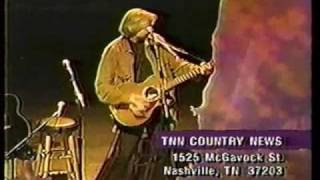 Justin Hayward - TNN Country News clip from 1995