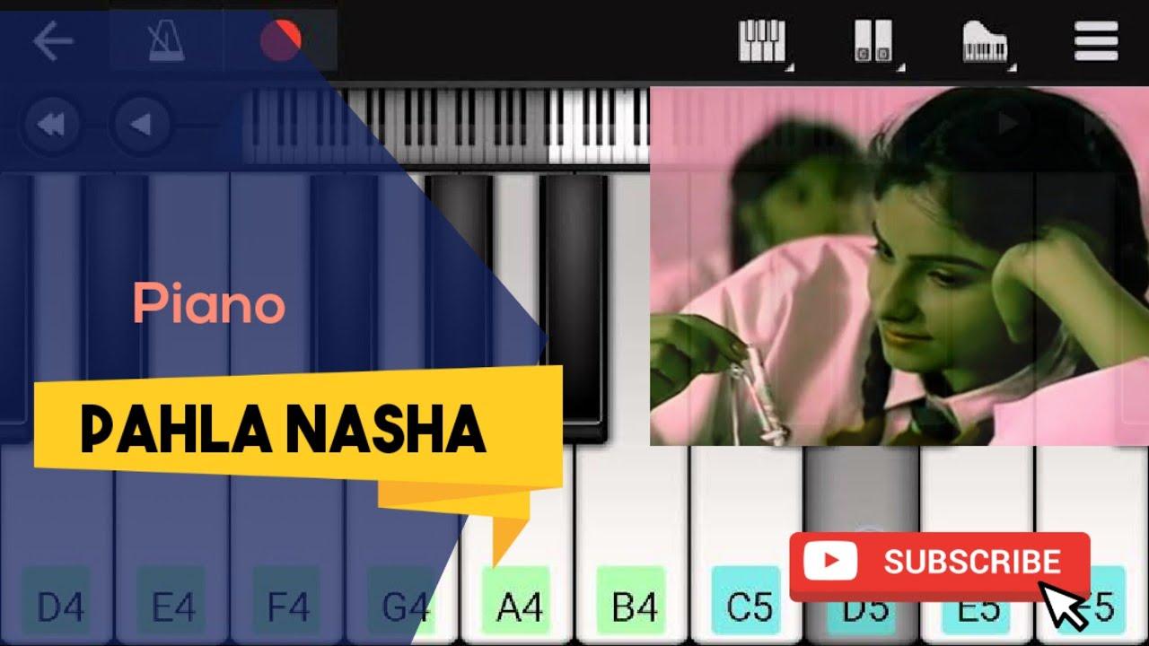 Pahla Nasha - Piano - Pahna Nasha Ringtone - jo jeeta wohi sikandar - Aamir Khan- perfect Piano