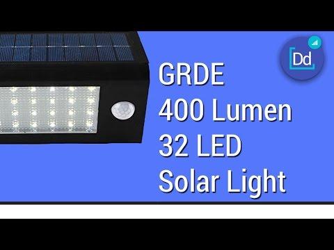 GRDE 400 Lumen 32 LED Solar Light