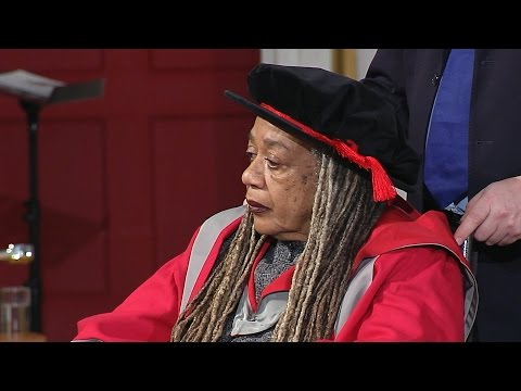 Jean Breeze MBE - Honorary Degree - University of Leicester