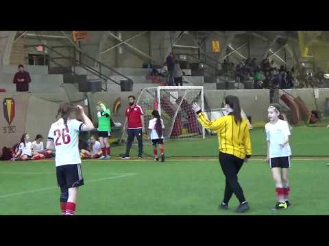 EB 07 Santos Soccer Palace vs Manhattan Magic game 2 of 2, Video 1 of 2  3-18-18