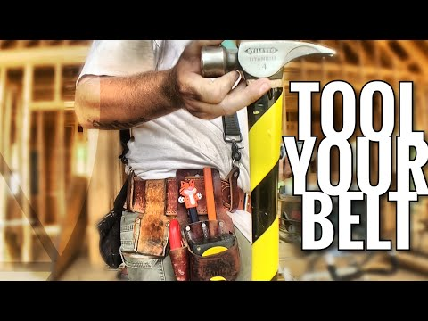 Tool Your Belt | 2 Awesome And Eclectic Tool Belt Setups