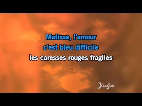 Karaoké L'amour à la machine - Alain Souchon *
