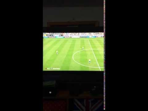 Amazing Andreas Granqvist free kick goal