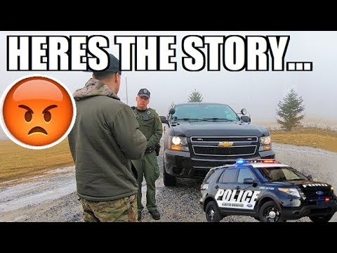 I GOT PULLED OVER By A FREAKING GAME WARDEN... Here's The FULL Story