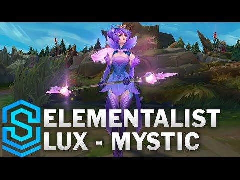 Elementalist Lux (Mystic Form) Skin Spotlight - League of Legends