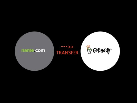 How To Transfer Domain Name.com to Godaddy Theme 2015 [วิธีย้ายโดเมน name ไป godaddy]