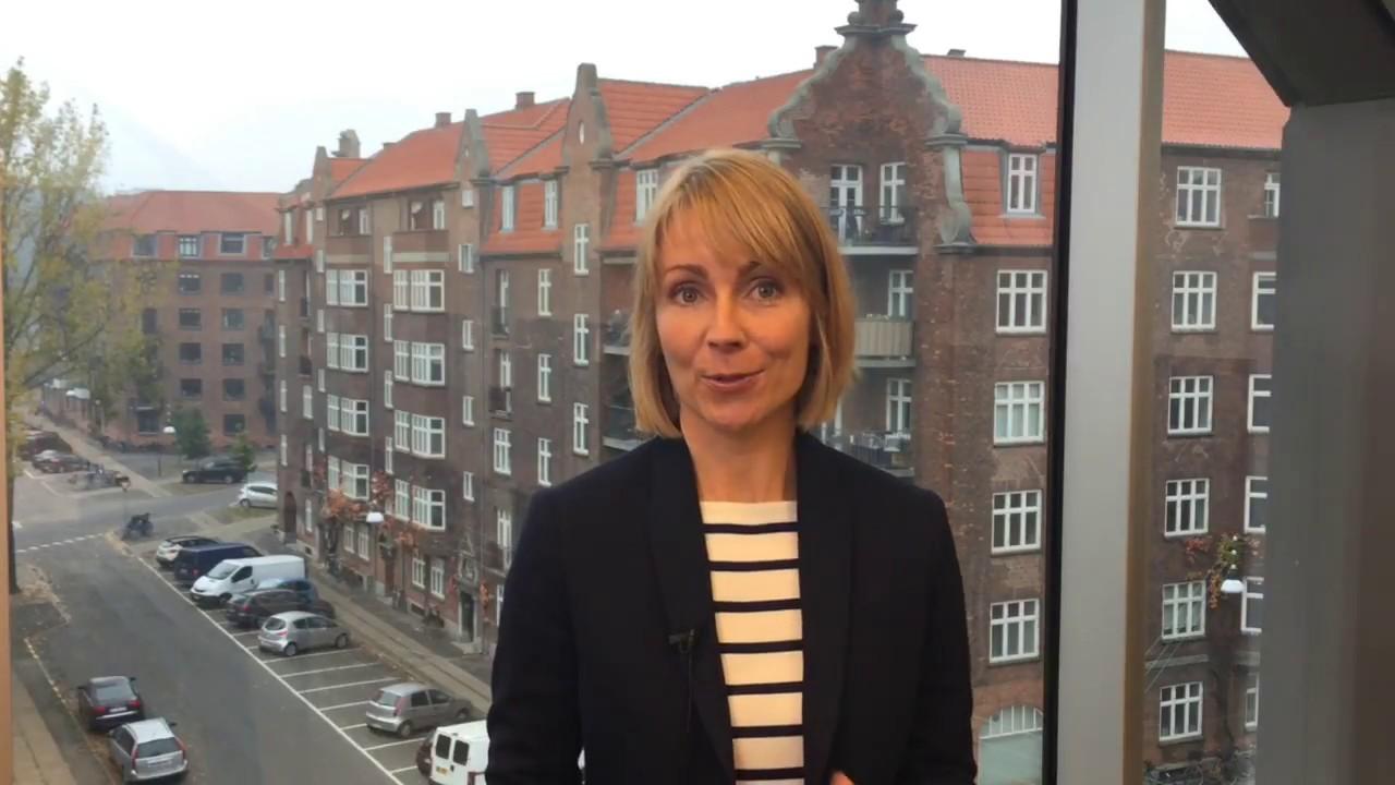 Maria Akselvoll fortæller om skole-hjem-samarbejde
