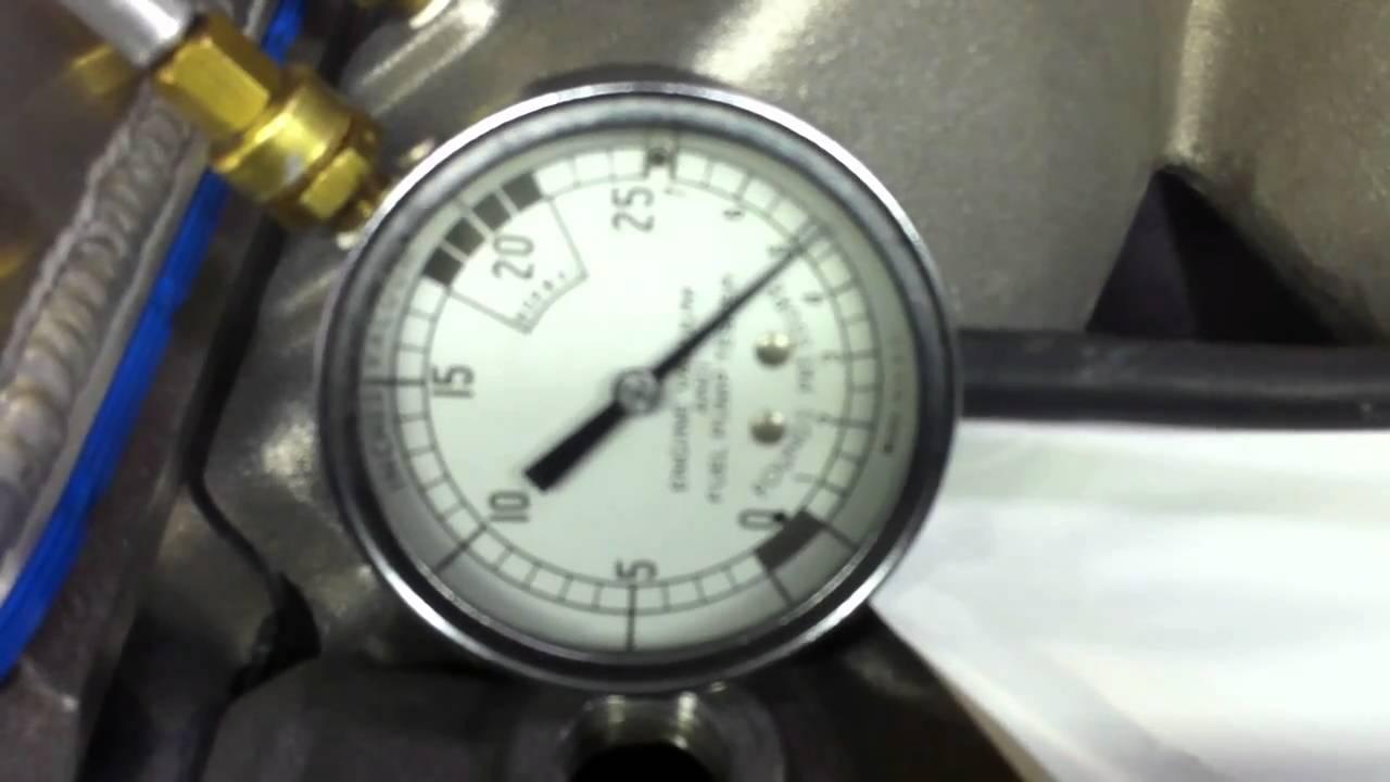 Racing Engine Vacuum Pump/ Crankcase Leak Down Test