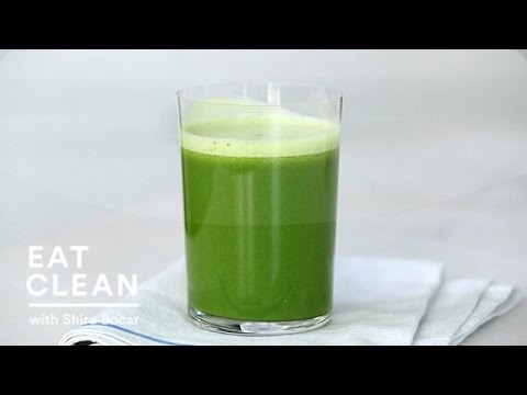 Apple, Fennel and Kale Green Juice - Eat Clean with Shira Bocar