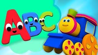 Kids tv Türkçe | bob tren | alfabe tren | Bebek Şarkıları Çizgi Film | Bob The Train | ABC Song