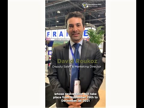 Expodefensa 2021 - Interview David Roukoz