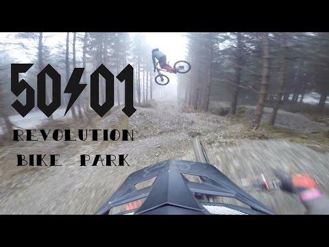 50to01 Revolution Bike Park Winter Gopro