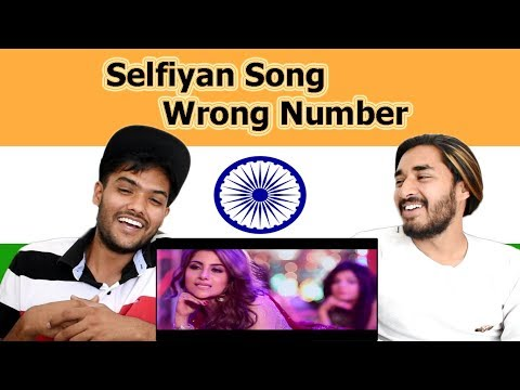 Indian Reaction On Selfiyan Song | Elia Waqar | Wrong Number | Swaggy D