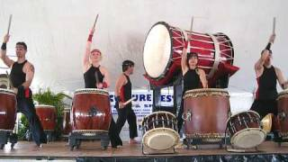 "Japanese Taiko Drum Performance: ""Taiko Immigrants"""