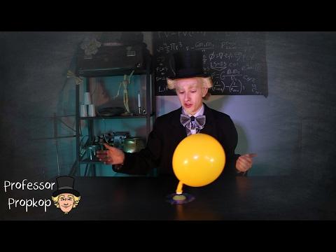 Experimenteren met professor Propkop - Hovercraft.