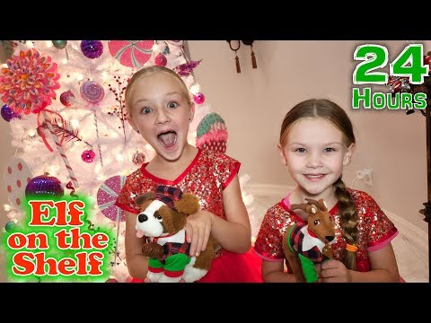24 Hours With Our Elf Pets!! Elf On The Shelf Day 3!