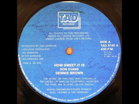 Dennis Brown - How Sweet It Is (1985 age28)