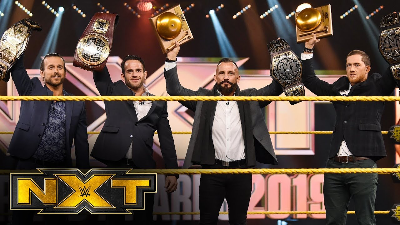 The Undisputed Era Win Tag Team Of The Year Wwe Nxt Jan 1 2020 Youtube Official undisputed era merchandise from wweshop.com, the official source for wwe merchandise the official wwe shop. the undisputed era win tag team of the year wwe nxt jan 1 2020