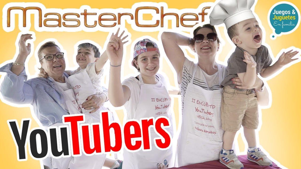 Estamos En Masterchef Youtubers Cocinando Challenge Youtube