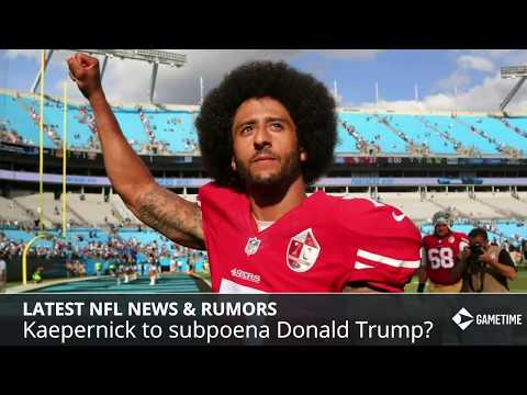 NFL News & Rumors: Kaepernick To Subpoena Trump, Reuben Foster Suspension, Carson Wentz Return - 동영상
