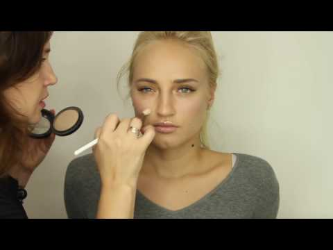 Красивый макияж глаз в коричневых тонах