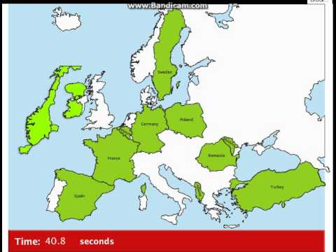 Educational Games Map Snap Europe Youtube
