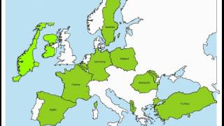 Educational Games! Map Snap: Europe