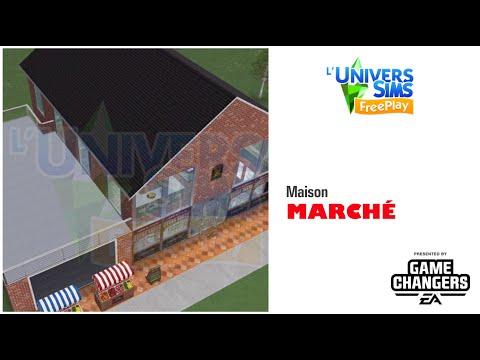 The Sims Freeplay - Maison récompense du Marché - accès anticipé