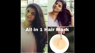HAIR MASK: For Dry, Damaged, & Frizzy Hair|1 solution for all hair problems| Beauty withrovina
