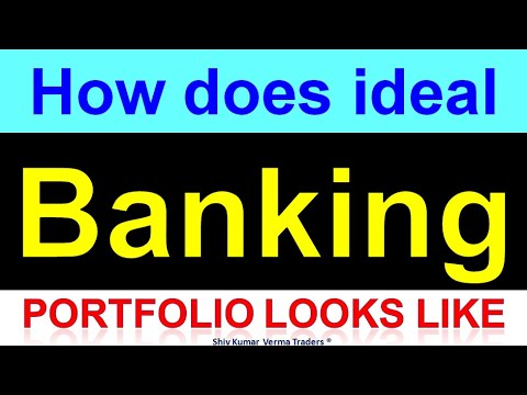 Ideal Banking Sector Portfolio In Indian Stock Market Icici Bank Sbi Sib Yes Bank Shares Youtube
