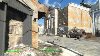 Fallout 4 Пацифист - Собака баг человека 2
