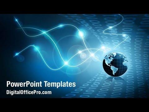 global internet powerpoint template backgrounds - digitalofficepro, Modern powerpoint