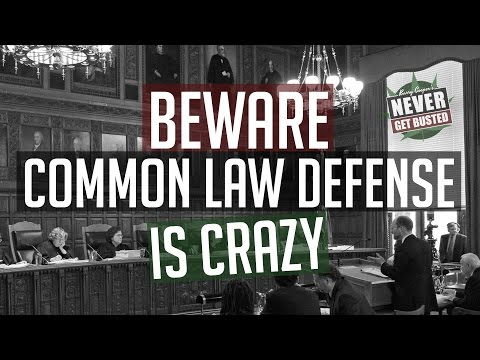 Barry Cooper: Beware, The Freeman, Sovereign, Common Law Defense Can Be Dangerous