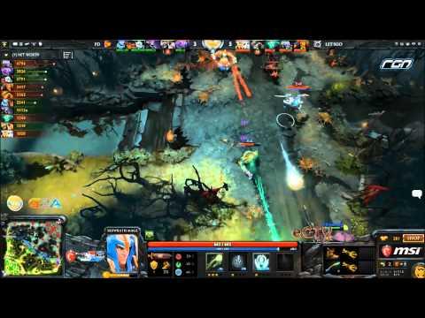 Dota 2- MSI Beat It RGN League Wildcard : FirstDeparture vs LetsGo