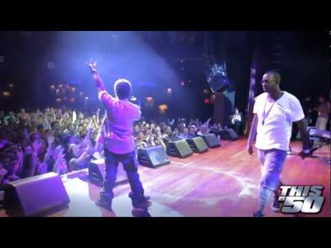Mann x 50 Cent Perform
