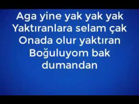 Furkan Biçer - Aga Yak Yak Sözleri  ( Lyrcis - Karaoke )
