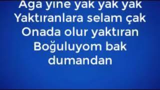 Furkan Biçer - Aga Yak Yak Sözleri  ( Lyrcis - Karaoke ) Video