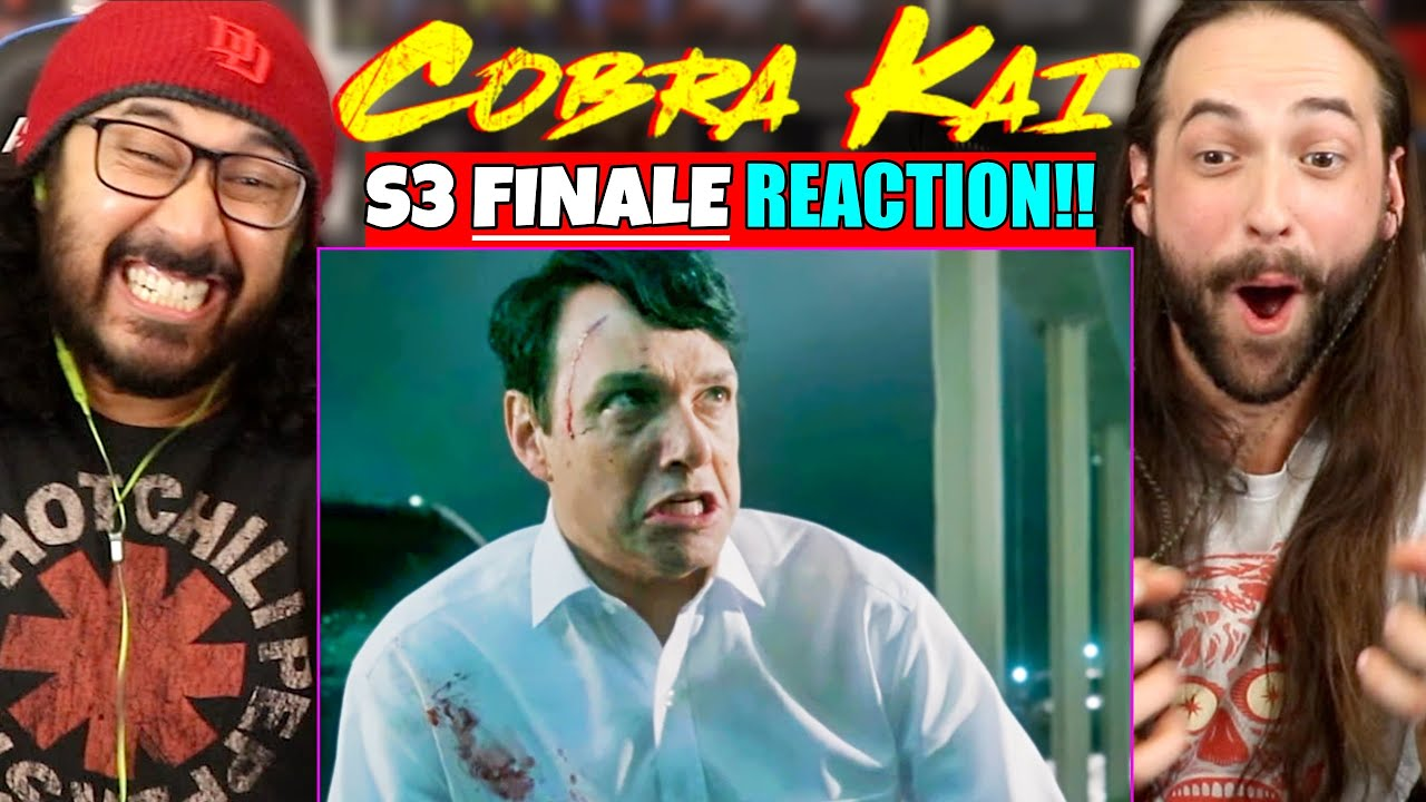 "Download COBRA KAI 3x10 - FINALE - REACTION!! ""December 19"" (Season 3 Episode 10)"