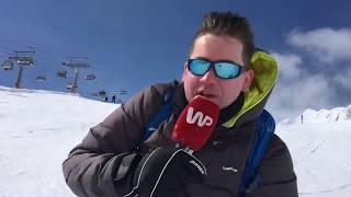 Wyznaczamy nowe trendy w dziennikarstwie ;) Reporter WP szaleje na nartach w Alpach
