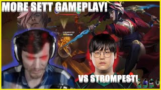 Hashinshin: THIS CHAMPION IS CHEATING! More Sett vs Strompest!