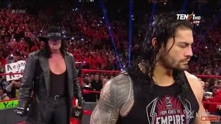 WWE Raw 22 April 2018 The Undertaker Return to Raw and fight with Roman Reings/10.8M Views