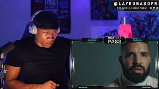 TRASH or PASS! Drake ft Lil Durk ( Laugh Now Cry Later ) [REACTION!!!]